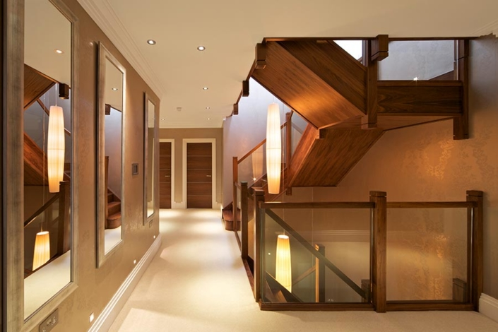 Glass Staircasing