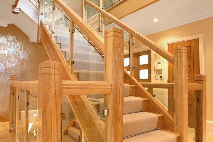 Internal Glass Staircase
